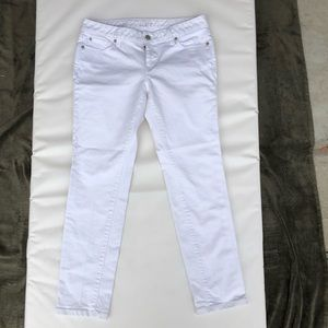 Ann Taylor Loft - White Straight Denim - 27